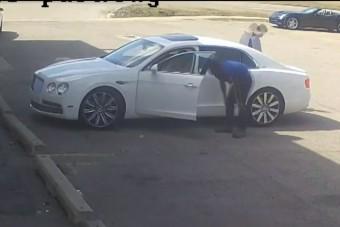 Szabálytalan maszkhasználat buktatta le a Bentley-tolvajt