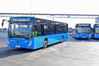 Vírusszűrős buszok álltak forgalomba Budapesten