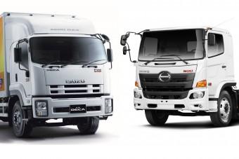Önvezető öko-teherautókat fejleszt a Toyota és az Isuzu