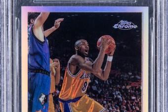 Félmilliárdnyit fizettek egy Kobe Bryant-kártyáért