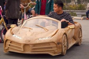 Gyerekek is vezethetik a méregdrága Bugattit