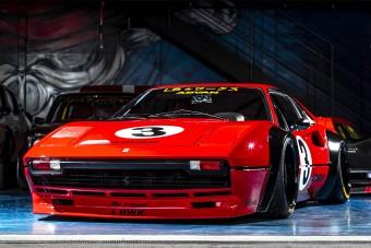A Liberty Walk kezelésbe vett egy Ferrari 308 GTB-t, és ide most kell egy felkiáltójel!