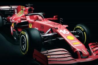 F1: Kínosra sikerült a Ferrari autóbemutatója