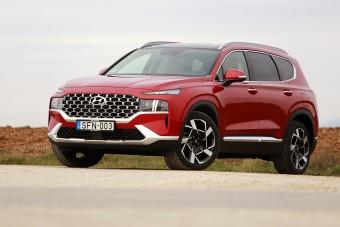 Családi mindenes, hihetetlen fogyasztással - Hyundai Santa Fe