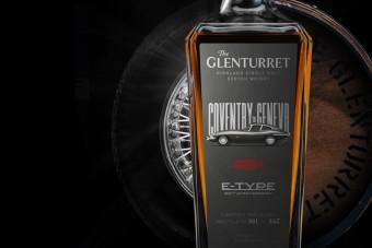 Drága és exkluzív whiskyvel ünneplik a híres sportautót