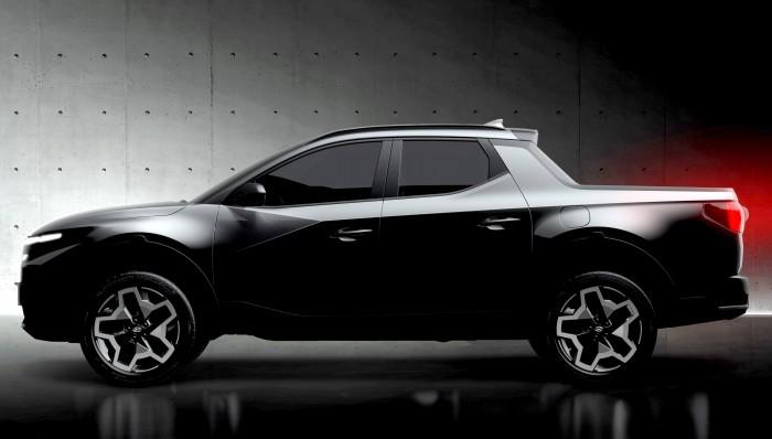 Sorozatgyártásba kerül, a Tucson scifi-orrát kapja a Hyundai pickupja 3