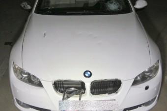 Vetélytársa BMW-jét verte szét egy nő Kaposváron