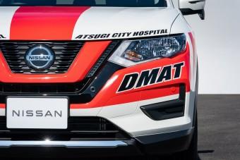 Katasztrófavédelmi terepjárót készített a Nissan