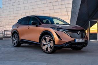 Különleges színekben érkezik a Nissan Ariya