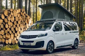Gyári kempingbusz az Opeltől