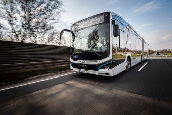 Indul a csuklós MAN elektromos busz sorozatgyártása