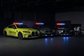 Iszonyúan menő biztonsági autókat ad a MotoGP-be a BMW