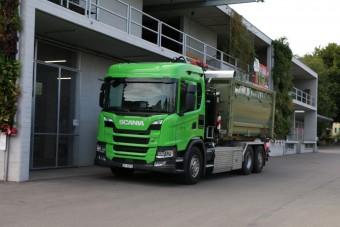Magának gyűjti össze az üzemanyagra valót ez a Scania
