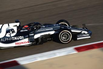 F1: Meglepetés a teszt utolsó napján