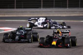 F1: A sírból hozta vissza futamát Pérez