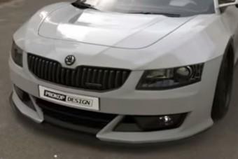 Összegyúrtak egy Škodát egy Honda NSX-szel, bámulatos az eredmény