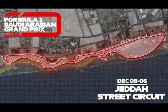 Jön az F1 valaha volt leggyorsabb utcai pályája