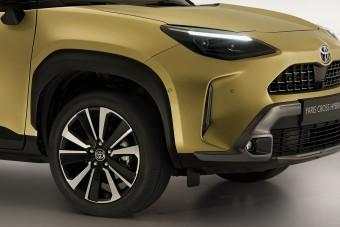 Férfiasabb kivitelben is elérhető lesz a legkisebb Toyota crossover