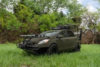 Csendes gyilkost faragtak ebből a Toyota Priusból