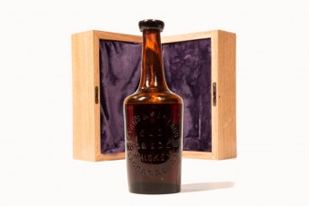 Elárverezik a világ legrégebbi ismert whiskyjét