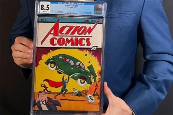 Egymilliárdnyit fizettek az első Superman-képregényért