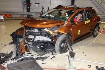 Hiába biztonságos, majdnem megbukott a Dacia Sandero