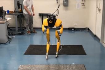 Félelmetes, ahogy járni tanul ez a robot-torzó