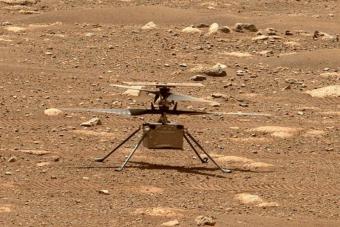 Felszállt a NASA helikoptere a Marson