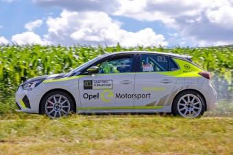 Hangszórókból süvít majd az Opel elektromos raliautója