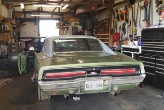 Fülmasszázs: 1969-es Dodge Charger, ha indul