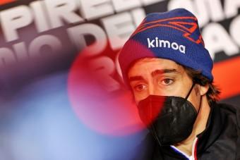 F1: Egyre messzebb kerül nagy álmától Alonso