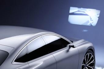 Ennek az autónak filmet vetít a fényszórója