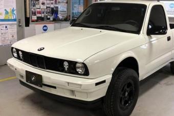 A platós BMW E30 az egyik legüdítőbb dolog, amiről ma olvashatsz