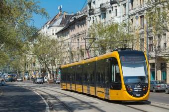 Új alacsonypadlós villamos Budapesten