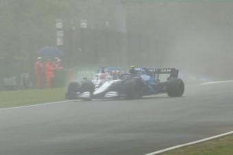 """F1: """"Ez volt életem legveszélyesebb fél köre"""""""