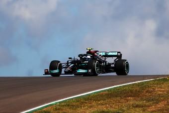 F1: Bottas kezdett az élen Portugáliában