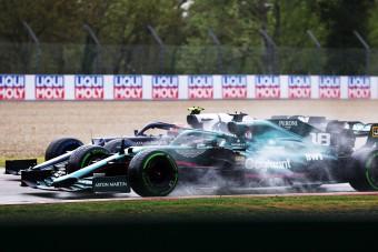 F1: Büntetés az imolai futam után, változott az eredmény