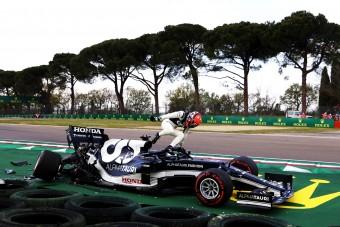 F1: Buta hibát vétett az újonc