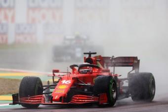 F1: Rádióhibán úszott el a Ferrari dobogója