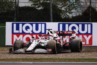 F1: Nem kapja vissza pontjait Räikkönen