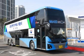 Utasokat szállíthat a Hyundai első emeletes villanybusza