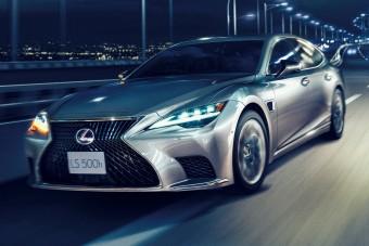 Autonóm funkciókkal erősít a Lexus LS
