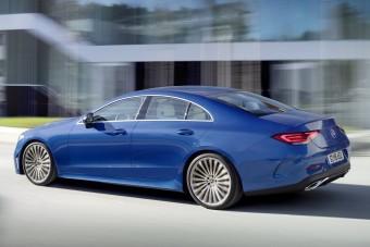 Ismét megújult a Mercedes CLS