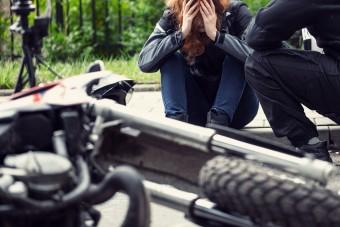 Szabályt szegett, de a motorost hibáztatta a gázoló