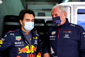 F1: Felhúzta magát Perezen a Red Bull-főnök