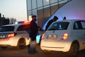 Meglepetéssel zárult a rendőrök igazoltatása