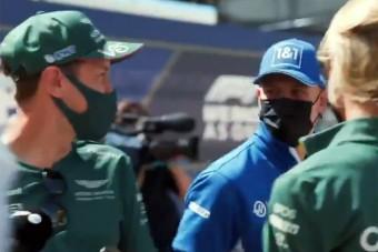 F1: Schumacher csak úgy belerúgott Vettelbe
