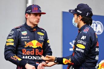 F1: Verstappen máris panaszkodik Perezre