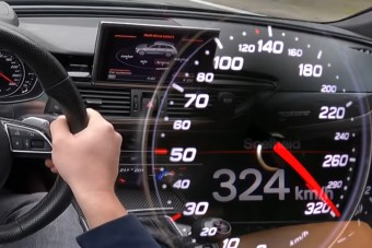 320 km/órás sebességnél ijesztő egy ilyen hiba