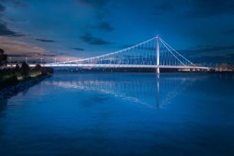 Ilyen lehet az új budapesti Duna-híd